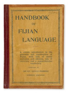 Handbook of Fijian language : a simple introduction to the grammar and construction of Fijian,