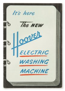 It's here, the new Hoover electric washing machine