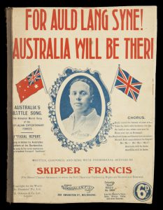 [SHEET MUSIC] For auld lang syne! Australia will be there