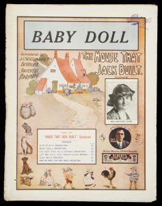 [SHEET MUSIC] Baby doll : words & music by R.D. ThomasTHOMAS, R.D.# 9096