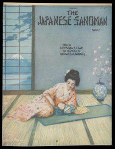 [SHEET MUSIC] The Japanese sandman : songEGAN, Raymond B.; WHITING, Richard A.# 9069