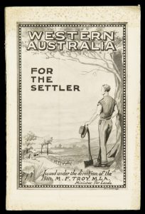 Western Australia for the settler : land for stock cereals, dairying, fruit, potatoes etc.