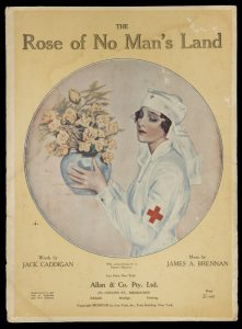 [SHEET MUSIC] The rose of no man's land / words by Jack Caddigan ; music by James A. Brennan.