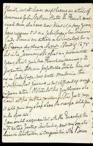 [BOTANY] Holograph letter of William Howitt re. propagation of Eucalyptus globulus in North AmericaHOWITT, William (1792-1879)# 8583