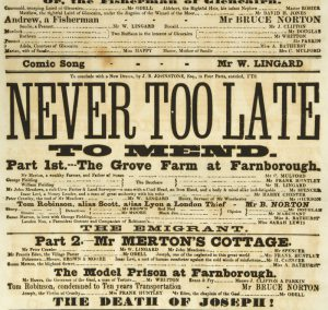 [GOLD RUSH] Never too late to mend![READE, Charles 1814-1884]# 8086