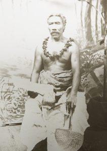 King Mata'afa of Samoa.KING, Henry (1855-1900); [ANDREW, Thomas]# 8055