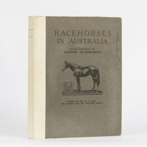 Racehorses in Australia : with paintings by Martin Stainforth