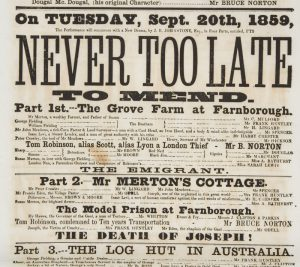 [GOLD RUSH] Never too late to mend![READE, Charles 1814-1884]# 6642