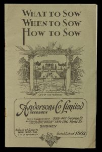 [HORTICULTURE] What to sow, when to sow, how to sow