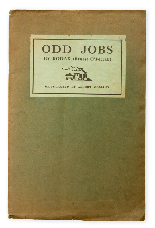 [POETRY] Odd jobs / by Kodak (Ernest O'Ferrall)