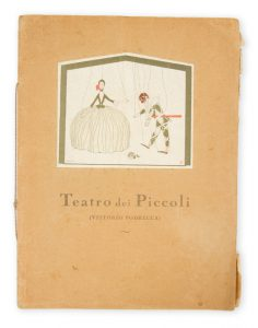 [PUPPET THEATRE] Teatro dei Piccoli[PODRECCA, Vittorio]# 5196