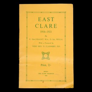 [IRELAND] East Clare 1916-1921 MACLYSAGHT, E.  # 5037