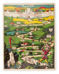 [BOARD GAME] The Ivory Castle GameD. & W. Gibbs, Ltd.# 4284