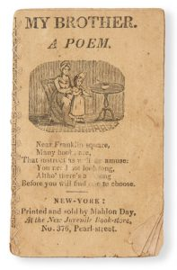 [MINIATURE BOOK] My brother. A poem.