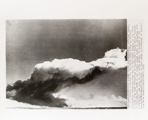 Atomic bomb test, Monte Bello Islands, Western Australia, 1952