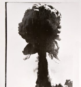 Atomic bomb test, Monte Bello Islands, Western Australia, 16 May 1956