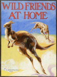 Wild Friends at Home (original cover art)BRIGHTWELL, L[eonard] R[obert] F.Z.S. (1889 - 1983)# 2878