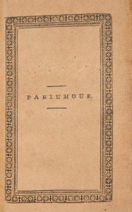 [UTOPIAS] Parjumouf : saga ifrån Nya Holland.ALMQVIST, Carl Jonas Love, 1793-1866# 2766