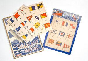 Dessino Marine [Nautical flag alphabet]Jeu Nuovo# 2742