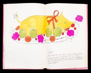 Wild Raspberries (presentation copy)WARHOL, Andy; FRANKFURT, Suzie; WARHOLA, Júlia# 12826
