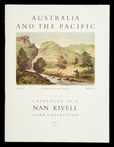 Catalogue of an exhibition of Australian and Pacific material from the Nan Kivell Collection  # 8999