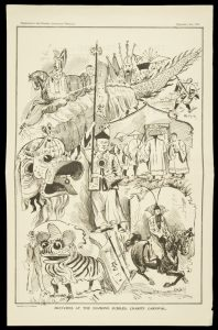 [CHINESE IN AUSTRALIA] Sketches at the Diamond Jubilee Charity CarnivalTAIT, R.G.; CHINESE AUSTRALIAN HERALD# 8662