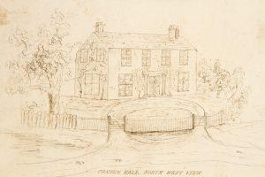 Craven Hall, Warminster, Bucks County, Pennsylvania Anon.  # 3326