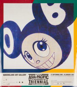 [POSTER]. The second Asia-Pacific Triennial of Contemporary Art. Brisbane Australia 1996.[MURAKAMI, Takashi]. Queensland Art Gallery# 14763