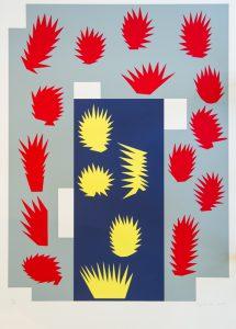 Garden doorJACKS, Robert (1943 - 2014)# 14759