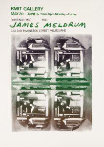 [POSTER]. James Meldrum Paintings 1960 - 80.MELDRUM, James# 14714