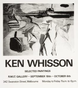 [POSTER]. Ken Whisson. Selected paintingsWHISSON, Ken# 14713