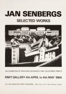 [POSTER]. Jan Senbergs : selected worksSENBERGS, Jan# 14712