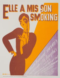 [POSTER]. Elle a mis son smoking