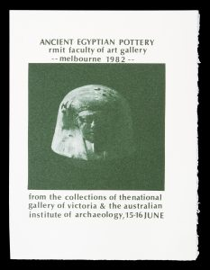 [POSTER]. Ancient Egyptian Pottery# 14706