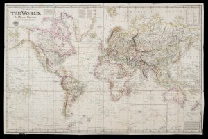 A chart of the world on Mercator's projection.PURDY, John# 14679