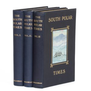 The South Polar Times (3 volumes with subscribers' broadside)