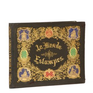 Le monde en estampes (deluxe coloured edition)