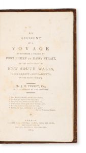 An account of a voyage to establish a colony at Port Philip in Bass's Strait,