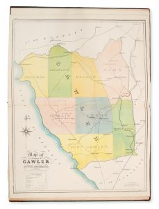 The new counties, hundreds, & district atlas of South Australia and Northern Territory, 1876.CARROLL, H. S.# 14690