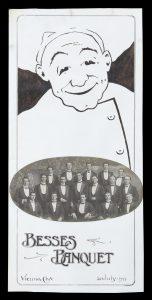 [MELBOURNE] Besses Banquet, Vienna Café, 20 July 1911.[VIENNA CAFE]# 14719