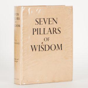 Seven pillars of wisdom : a triumphLAWRENCE, T. E.# 14656