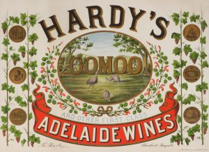 Hardy's Oomoo and other first class Adelaide wines