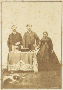 An intriguing Australian colonial photograph, circa 1870