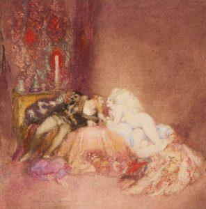 Orleans and IsabelleLINDSAY, Norman (1879-1969)# 14832