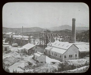 Tasmanian Smelting Co. Works, Zeehan, Tasmania, circa 1910