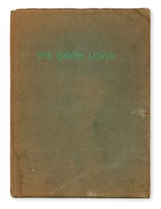 The Earth Lover and other verses