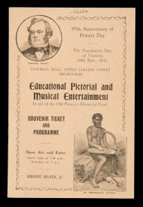 [MELBOURNE] Educational pictorial and musical entertainment in aid of the Old Pioneers Memorial Fund