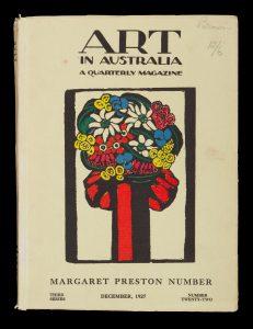 Art in Australia. A Quarterly Magazine. Third Series, Number Twenty-Two. Margaret Preston Number.PRESTON, Margaret; URE SMITH, Sydney# 14752