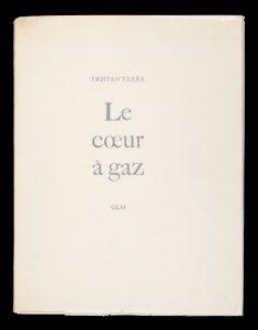 [DADA] Le coeur à gazTZARA, Tristan (1896-1963)# 14632