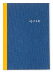 Open sky. A homage to Ruth Dallas. A book by Alan Loney